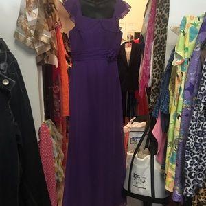 Purple gown 8